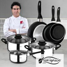 San Ignacio juego 3 sartenes Batería de cocina 5 piezas (Cod. Gr-52