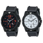 Columbia CA800 Descender Mens Analog Quartz Black Silicone Band Watch With Date