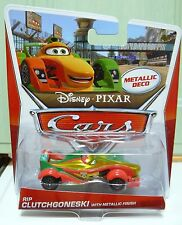 CARS 2 - RIP CLUTCHGONESKI Metallic Finish - Mattel Disney Pixar