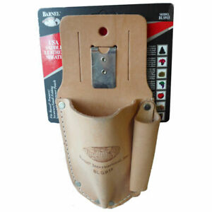 Leather Holster For Secateurs With Belt Clip By Barnel Pouch Holder Tools Garden