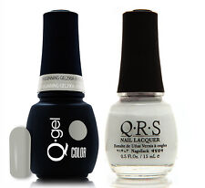 Gel & Polish QRS Beauty Combo MAT290A In the Begnning Gray
