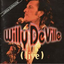 """WILLY DEVILLE """"LIVE"""" ULTRA RARE SPANISH CD / THE VALENTINES - BRASS ATTACK HORNS"""