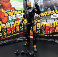 "Marvel Legends Civil War Gold-Black Ironman Armor 6"" Loose Action Figure"