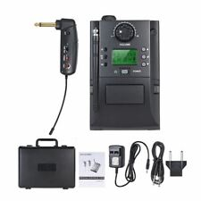 UHF 32 Channnels Professional Wireless Guitar Pickup Transmitter Receiver System