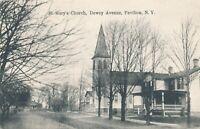 PAVILION NY – St. Mary's Church Dewey Avenue