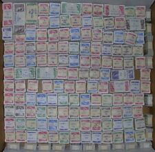 Karsh issue (325-329) 20,000+ used stamps in old-time bundles of 100.