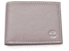 TIMBERLAND Men Genuine Leather Horizontal Passcase WALLET NIB Brown 218X