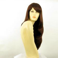 length wig for women dark brown copper ref WENDY 31 PERUK
