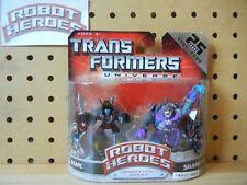 Transformers Robot Heroes Universe RARE Wave 4 SNARL & SHARKTICON Gnaw Slag