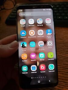 Samsung Galaxy S8 64 GB Tmobile Version Black For Parts But IS WORKING WELL USED