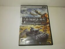 Panzers 2 Codename: Panzers Phase II cd-rom fx interactive pal Spain/España