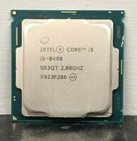 Intel Core i5-8400 CPU Processor 2.80GHz  FCLGA1151 SR3QT 6 Core 6 Thread EC2901