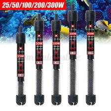 25/50/100/200/300W Aquarium Submersible Fish Tank Water Heater Temperatur