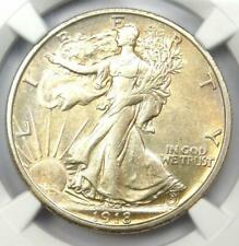 1918-S Walking Liberty Half Dollar 50C Coin - Certified NGC AU53 - Rare Date!