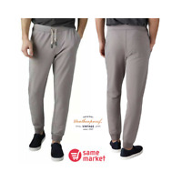 NEW!!! Weatherproof Vintage Men's Comfort Drawstring Jogger Pants (Dove Grey XL)