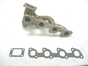 OBX Stainless Steel Header For 1974-1993 Volvo 240 740 940 2.3L 2.4L
