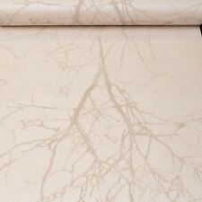 Rasch Tree Shimmer Cream Beige Wallpaper 731545 Floral Trail Vinyl Textured