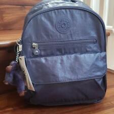 Kipling Rose Small Backpack Enchanted Purple Metallic