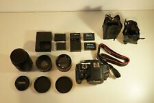 Canon EOS Rebel T6I 24.2MP DSLR Camera Bundle with IS STM 18-55mm Lens + Extras