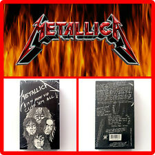 🔺Metallica Cliff 'Em All VHS Video 1987 (1st Issue)🔻