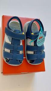 "New See Kai Run ""Cyrus IV"" navy flexirun machine washable sandals, tod. 6 ,NWT"