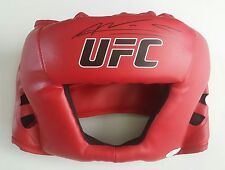 Amanda Nunes Autographed Signed MMA UFC Champion Head Gear JSA