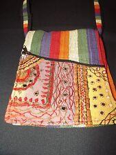 NEW Hippie BoHo Ethnic Tribal Striped Messenger Shoulder Bag Sling Purse NWT