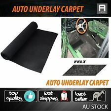 8m2=2M x 4M Car Auto Carpet Trunk Liner Floor Underlay Underfelt Sound Deadener