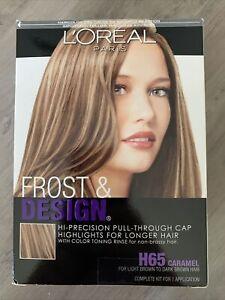 LOreal Paris Frost & Design Hi-Precision Hair Highlights #H65 CARAMEL