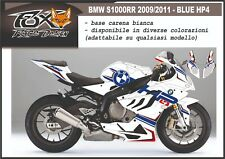 ADESIVI stickers MOTO KIT per BMW S1000RR BLUE HP4 S1000 RR