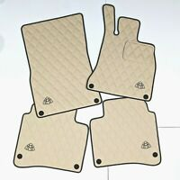 RHD Mercedes S class Eco Leather Floor Mats