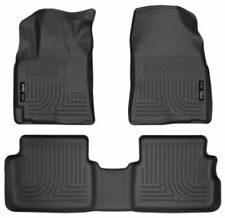 Husky Liners 2009-2013 Toyota Corolla and Matrix FWD Black Floor Mat Set 98531