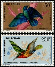 ✔️ CHAD 1967 -  FAUNA BIRDS TOP SET ! - MI. 171/172 ** MNH OG [A302903B]