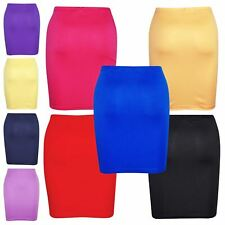 Gilrs Skirt Kids Plain Color School Fashion Dance Pencil Skirts Age 7-13 Years