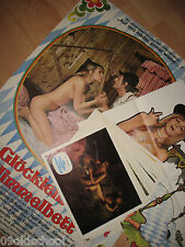 DAS GLÖCKLEIN UNTERN HIMMELBETT 24 AUSHANGFOTOS+2 PLAKATE A1 SEXY GERMAN BAVARIA