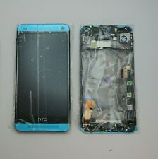 GENUINE HTC ONE M7 BLUE LCD SCREEN DISPLAY DIGITIZER  NEW