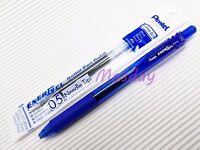 Pentel BL-105 Energel 0.5mm Extra Fine 2 Roller Ball Pens + 6 Refills, BLUE