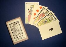 Medieval fifteenth century historic reproduction playing cards