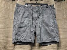 073a7bcffd6b Mens Gray Calvin Kline Jeans Subtle Camouflage Print Shorts Sz 36