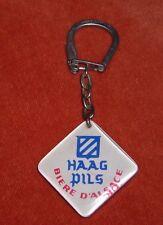 Porte-clé keychain Bourbon ? Bière Alsace Haag Pils