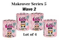 4 LOL Surprise Makeover Series 5 Wave 2 LILS Lil Sister Brother Pets Doll 1 5 6