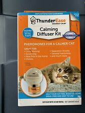 ThunderEase Cat Calming Pheromone Diffuser Kit - Reduce Scratching 30 day