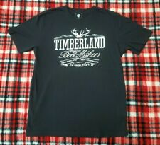Timberland Graphic Tee Shirt Original Boot Makers Earthkeepers Est 1973