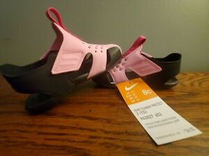 Nike Kids Sunray Protect Toddler Pink Black Water shoe Sandal Size 8C New w/Flaw