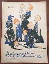 IL GIORNALINO DELLA DOMENICA Anno VII, N. 37, 31 agosto 1919, Luigi Bertelli