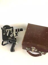 VTG Paillard Bolex H16 Movie Camera Yvar AR 2.8 75mm 16mm Switar 25mm 1.5 Lens