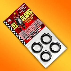1/43 Scale Carrera GO Ferrari 458 Italia Racing Tires Jel Claws 4pk fits Rears