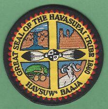 HAVASUPAI ARIZONA TRIBAL SEAL PATCH