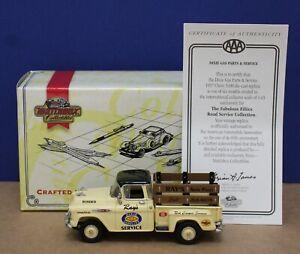 Matchbox Collectibles YRS05-M 1957 Chevy Pickup Ray's Dixie Svc 1:43 MIB w/ COA