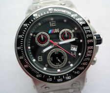 BMW Motorsport M Power Racing Carbon Accessory Design Sport Chronograph Watch